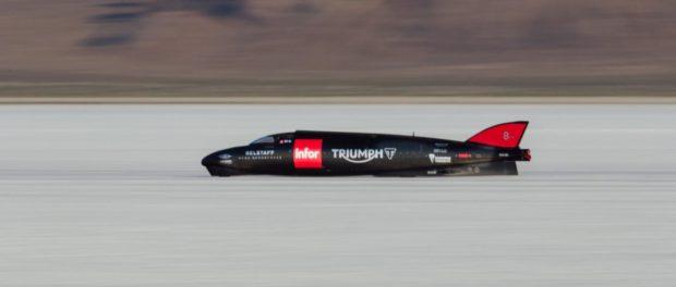 The world's fastest Triumph - the Triumph Infor Rocket Streamliner