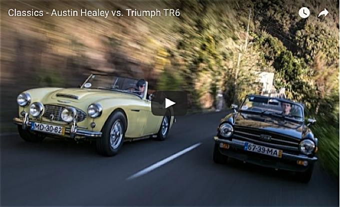 VotW - Six-Cylinder Austin Healey versus Triumph TR6