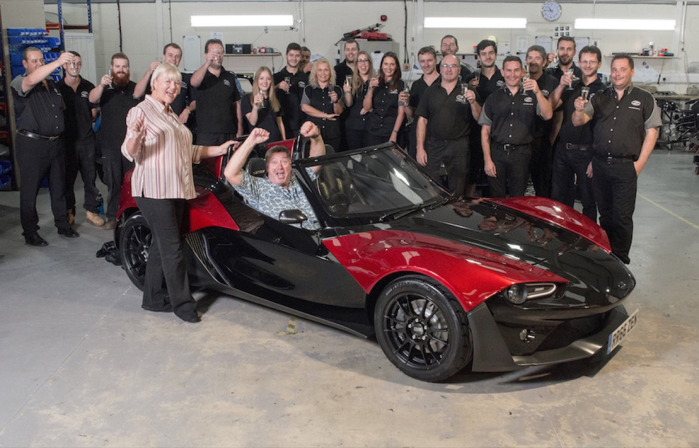 100th Zenos to be built is collected from factory