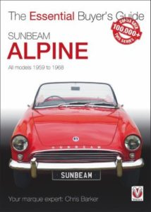 Sunbeam Alpine – All models 1959 to 1968