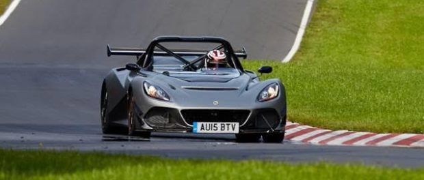 Around the Nürburgring in the Lotus 3-Eleven