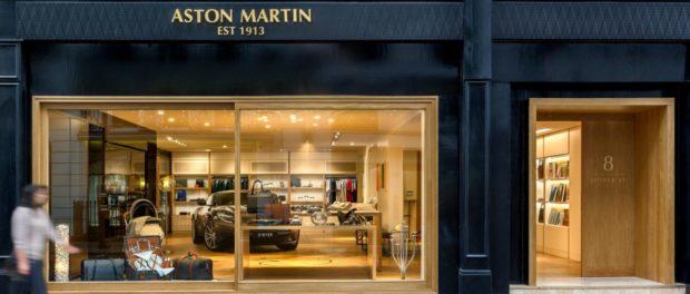 Aston Martin Opens Destination Boutique in Mayfair