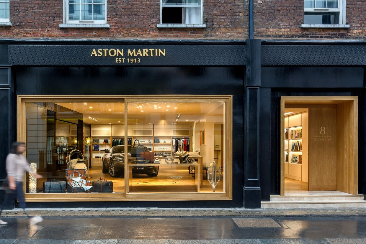 Aston Martin Opens Destination Boutique in Mayfair