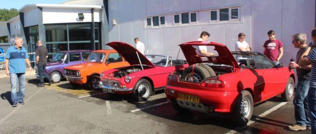 Best of British engineering showcased at MG Motor