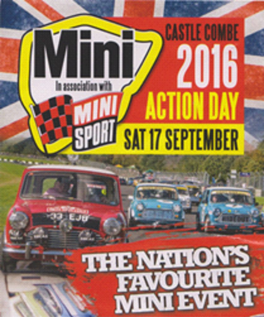 Castle Combe Mini Action Day