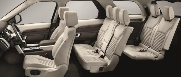 The new Land Rover Discovery Interior