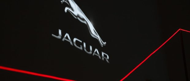 Jaguar celebrates London's first Design Biennale with innovative light installation at Somerset House.1