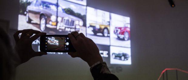 Jaguar celebrates London's first Design Biennale with innovative light installation at Somerset House.12