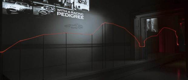 Jaguar celebrates London's first Design Biennale with innovative light installation at Somerset House.6