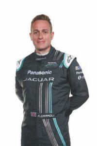 Panasonic Jaguar Racing Driver Adam Carroll