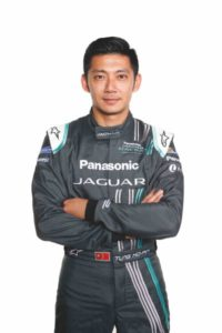 Panasonic Jaguar Racing Driver Ho-Pin Tung
