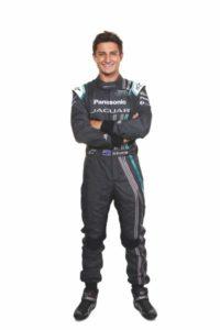 Panasonic Jaguar Racing Driver Mitch Evans