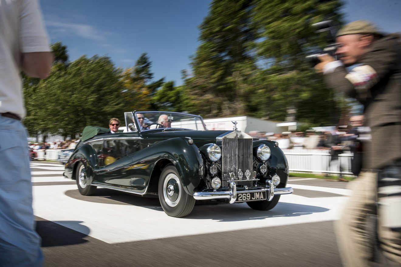 Goodwood Revival for Rolls-Royce Motor CarsPhoto: James Lipman