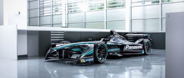 The Panasonic Jaguar Racing I-TYPE Formula E Car 1