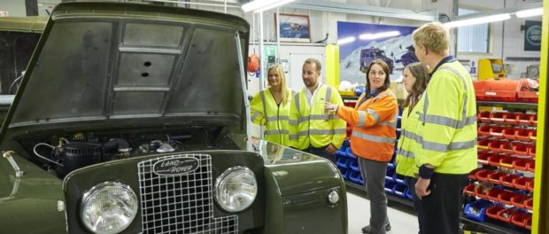 LAND ROVER CLASSIC OPENS DOORS TO NEW 'REBORN' TOUR AND DRIVING EXPERIENCE