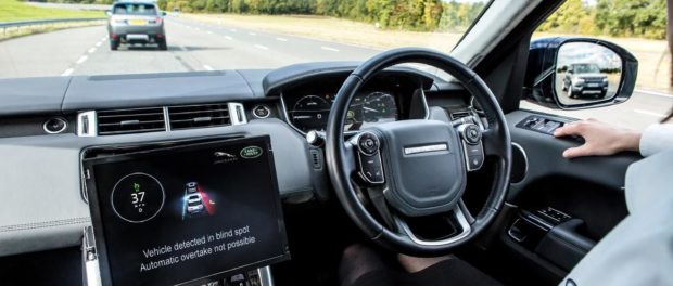 Jaguar Land Rover Showcases Connected & Autonomous Technologies - Advanced Highway Assist