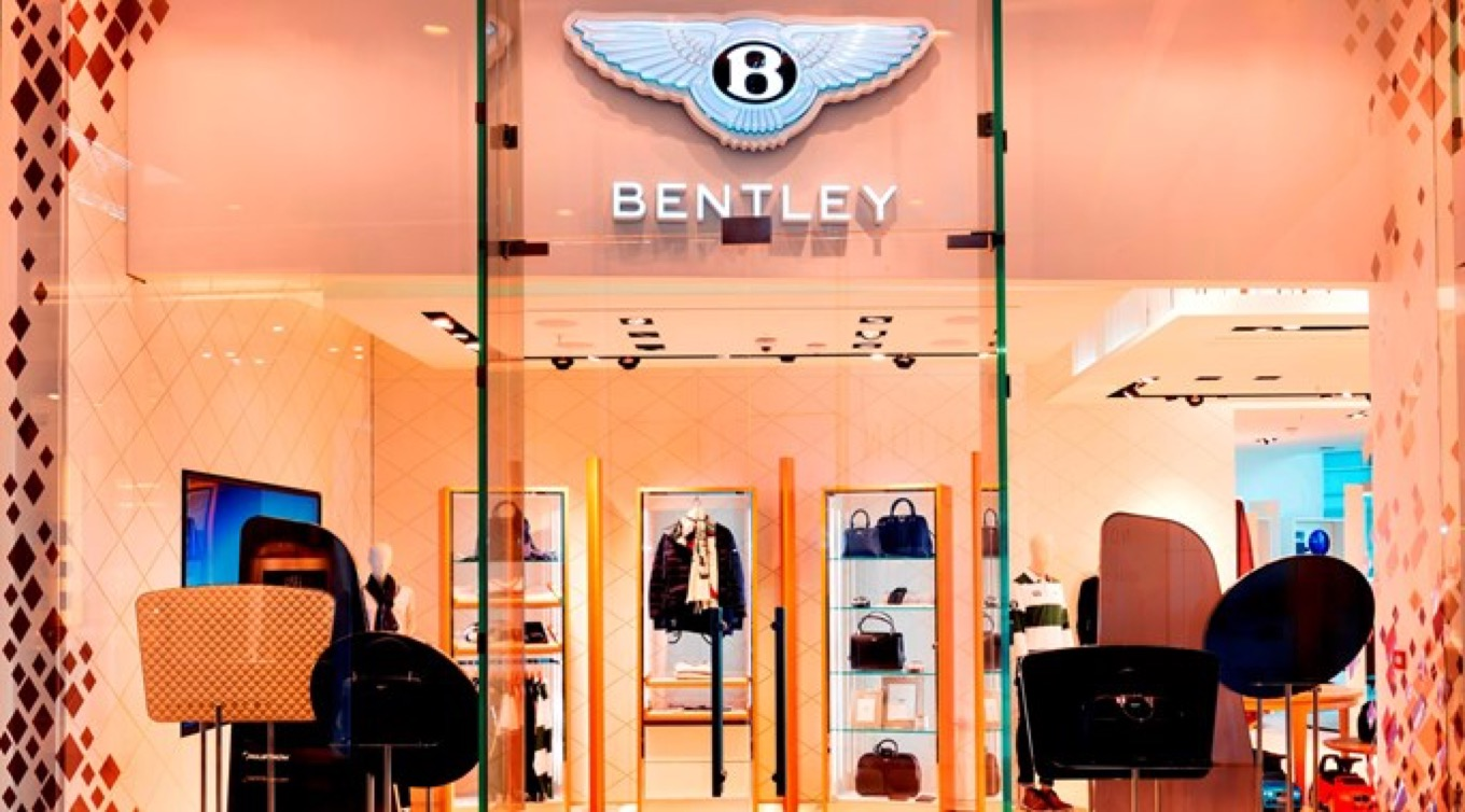 BENTLEY OPENS NEW LUXURY PERSONALISATION STUDIO IN WESTFIELD LONDON