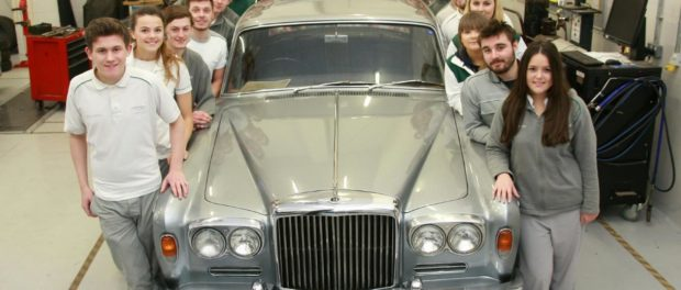 Apprentices will develop new skills to renovate 1965 Bentley T-Series