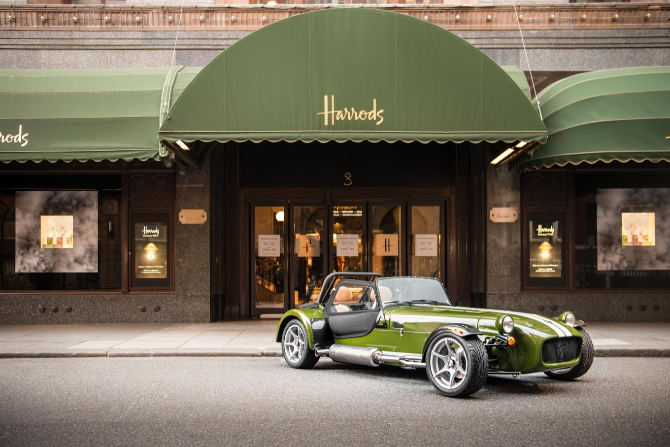 Caterham Teams Up with Harrods for Personalization Program