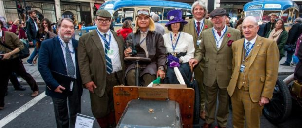 Concours class winners at the 2015 Regent Street Motor Show