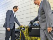Head of MINI brand management Sebastian Mackensen and Head of MINI series management Peter Wolf preview the first electric plug-in hybrid model by the British premium brand.