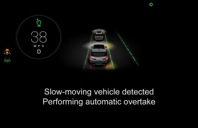 Jaguar Land Rover Showcases Connected & Autonomous Technologies