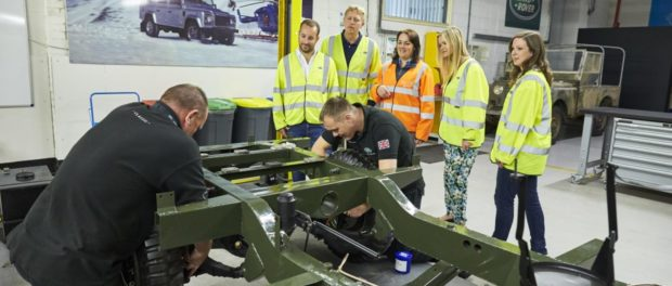 Land Rover Classic opens doors to new Reborn Tour and Driving Experience - 08-08-16 LRE Solihull Tour