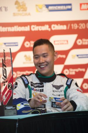 Local driver Fong finished in P2 in race one