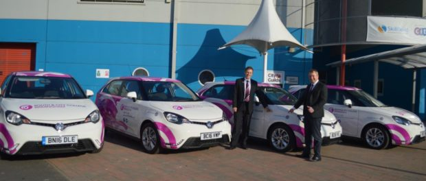 MG Motor UK partners with local Birmingham college