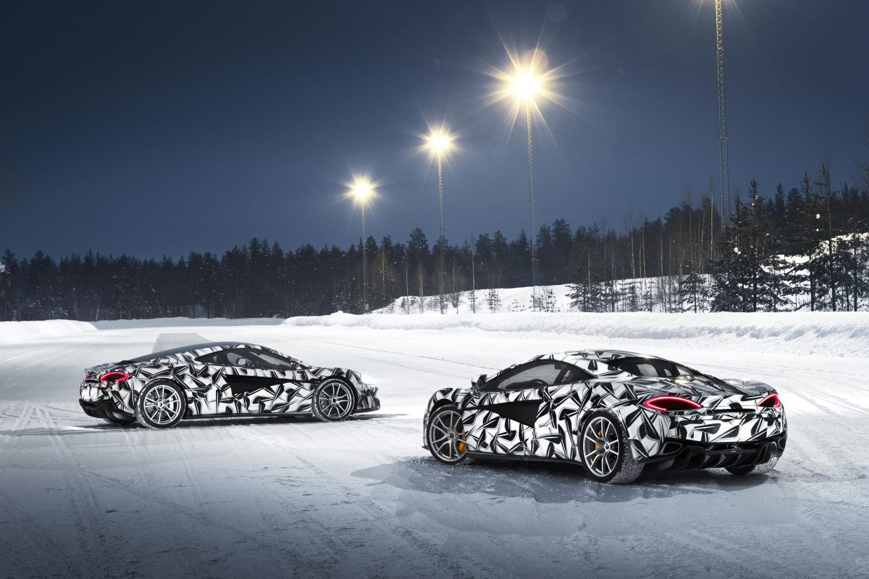 Pure McLaren Launches Inaugural Ice Driving Experience