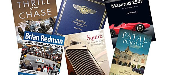 Royal Automobile Club announces Contenders for Motoring Book of the Year