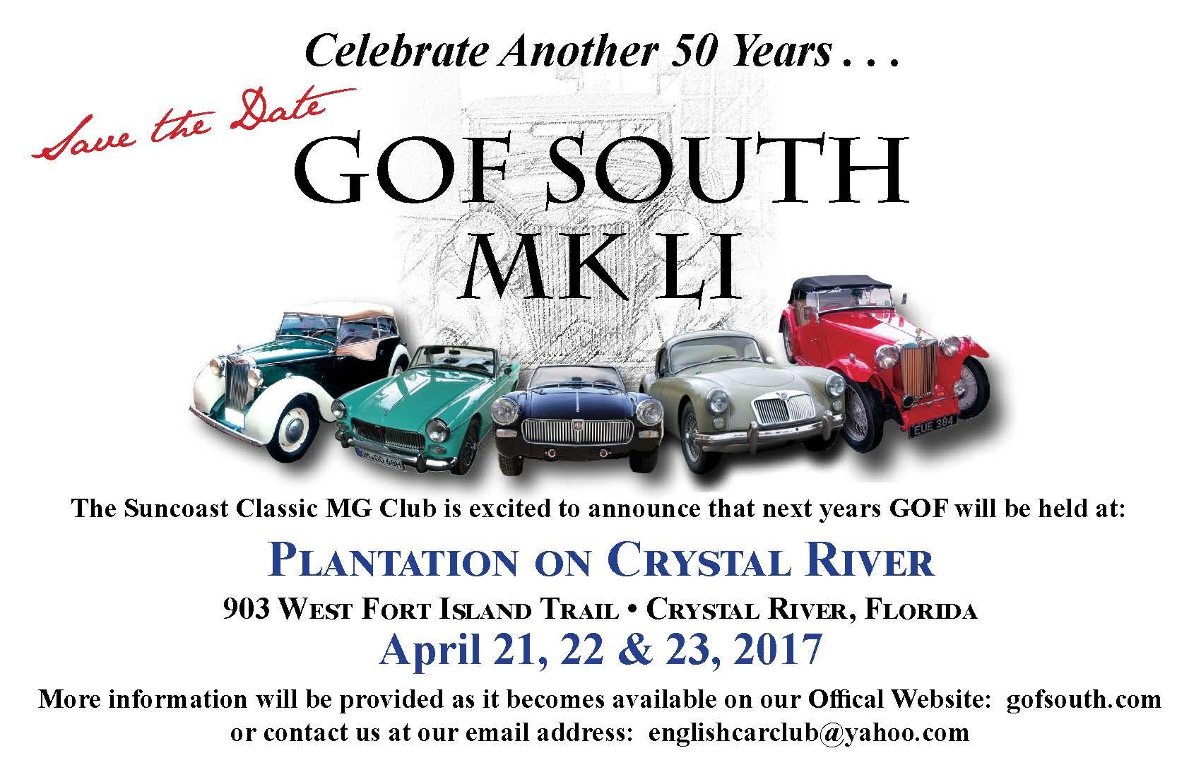 GOF South 2017 Mk LI - Crystal River, FL.