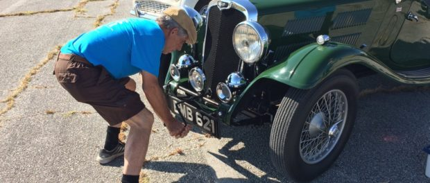 Starting 1935 Triumph Gloria Southern Corss