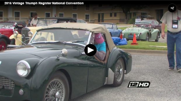 VotW - National Triumph car convention attracts hundreds