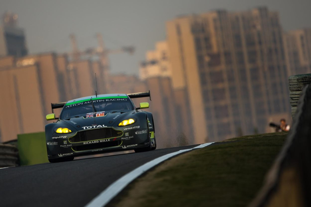 Aston Martin Racing taste victory at 6 Hours of Shanghai