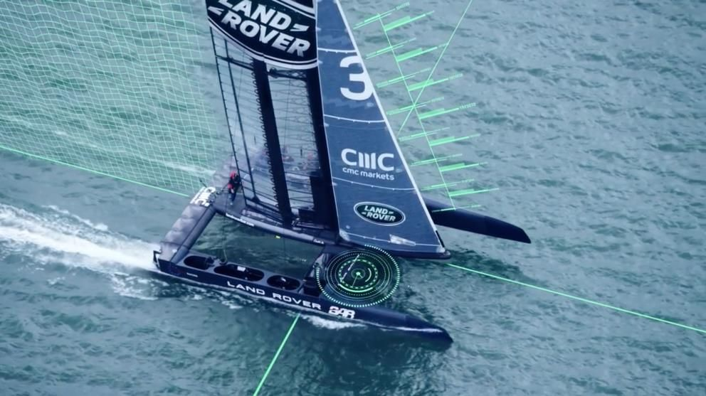 Land Rover BAR Aerodynamics Testing for America's Cup