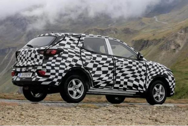 MG ZS Spy Shots - Side
