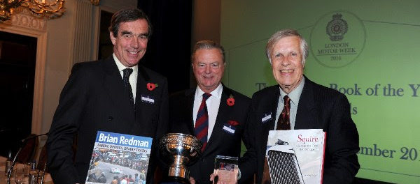 RAC's Motoring Book of the Year is Brian Redman Daring Drivers, Deadly Tracks