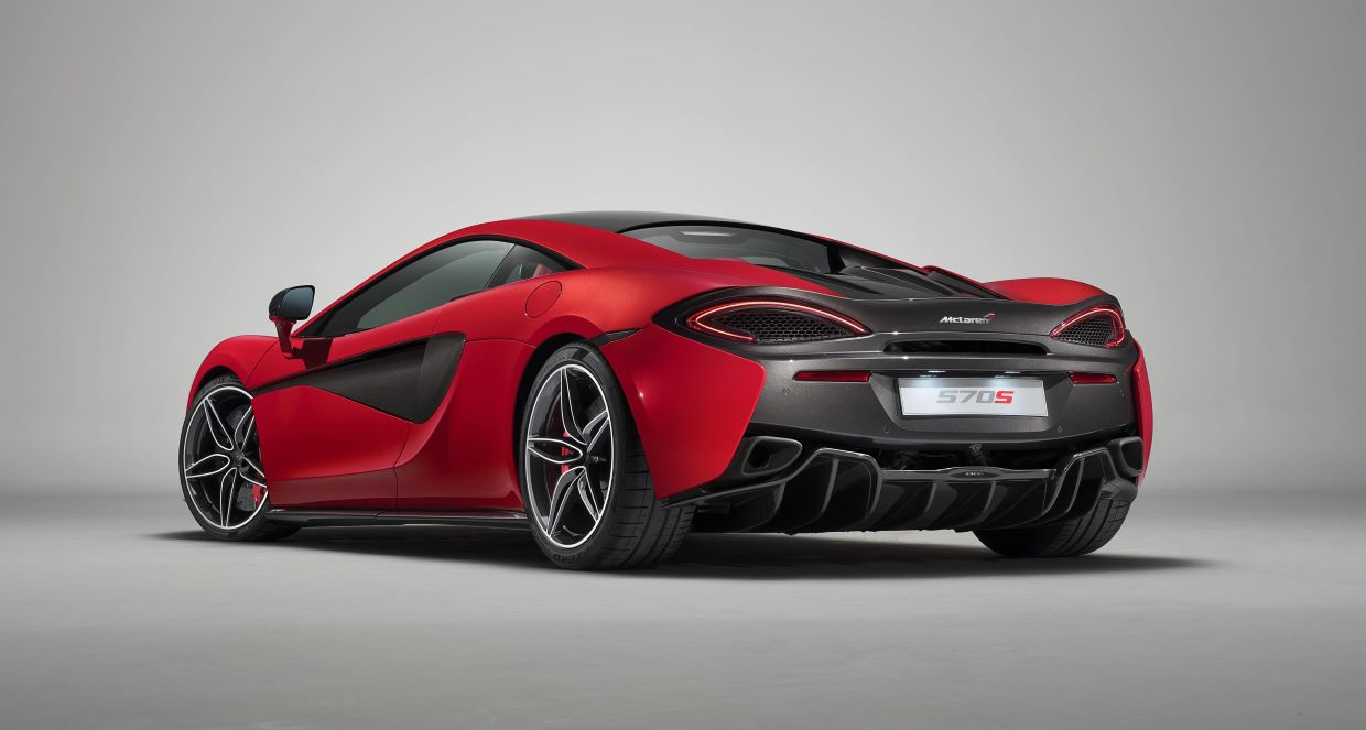 The new McLaren 570S Design Editions - Rear