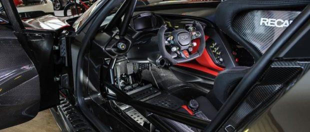 Ultra-rare Aston Martin Vulcan blasts in to Showroom