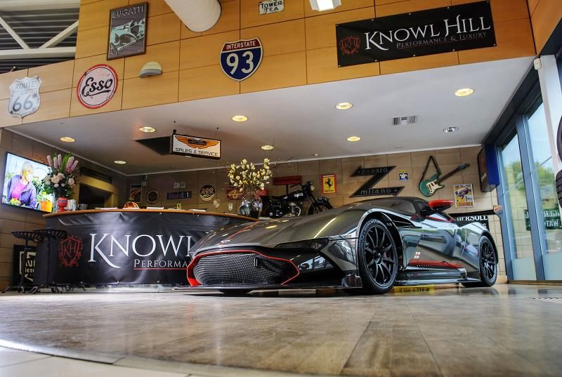 Ultra-rare Aston Martin Vulcan blasts in to Showroom