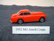 1952 MG Arnolt Coupe