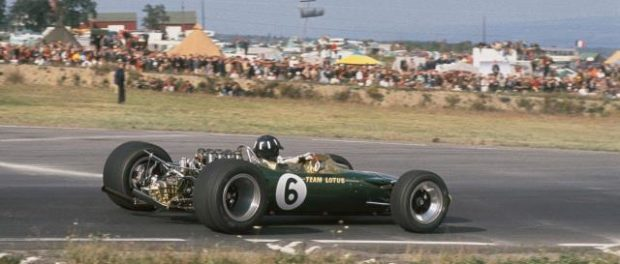 Graham Hill 49 R3 1967 (Mexico GP)