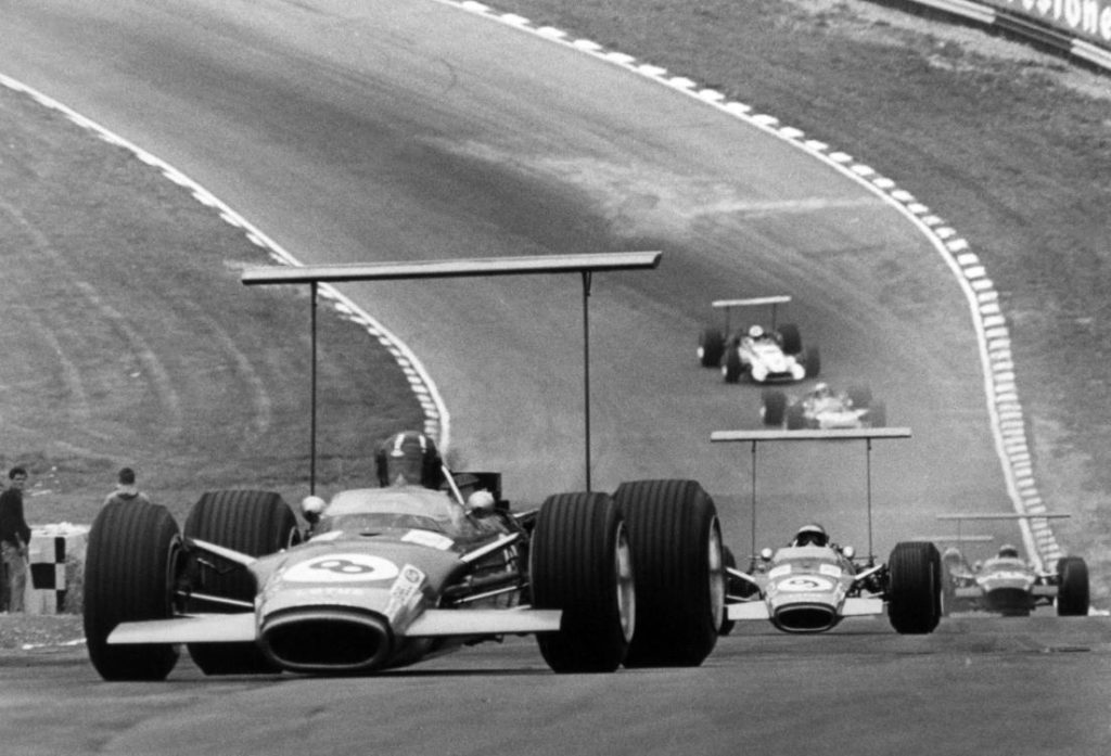 Graham Hill Type 49 R5 R10 British GP 1968