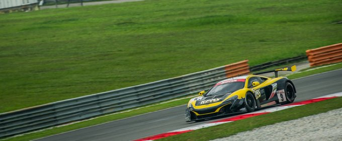 McLaren Secures Front Row for Sepang 12 Hours