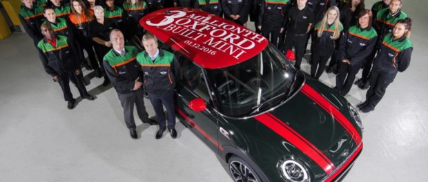 Three millionth Oxford-built MINI