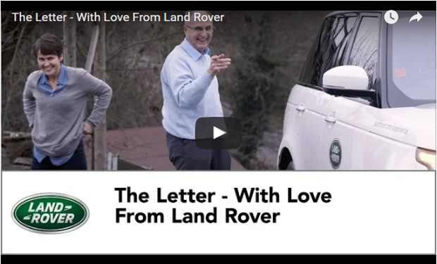 VotW - The Letter - With Love From Land Rover