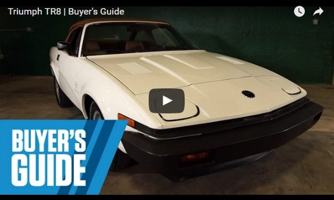 VotW - Triumph TR8 Buyer's Guide