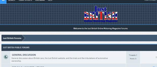 Just British Discussion Forums