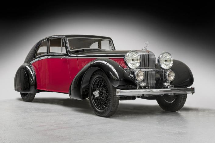 1935 Bertelli-bodied 4.3-litre Alvis Sports Coupé